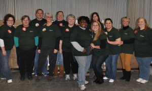 Ohio Team at Mid-Ohio Foodbank
