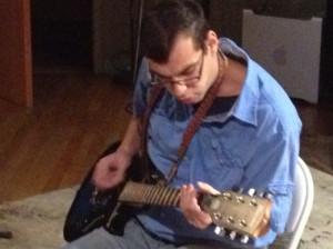 Photo:  Aaron's Guitar Solo