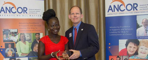 Pricilla Spaeth & Dave Toeniskoetter, ANCOR Awards