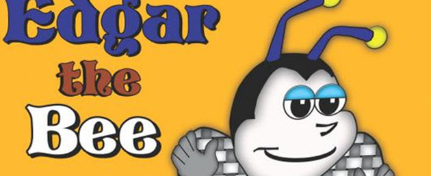 Edgar_The_Bee Book Cover