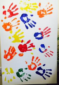 Hands on Canvas Artwork