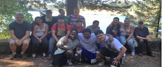 Camping Group Header
