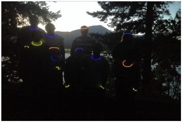 Photo: glow sticks